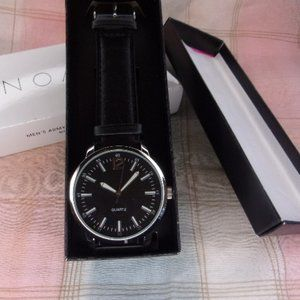 Avon Men's Army Style Watch Black New in Box